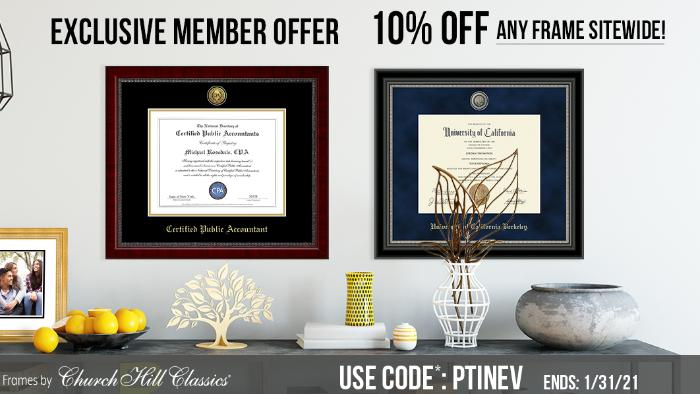 Frame Your CPA Certificate