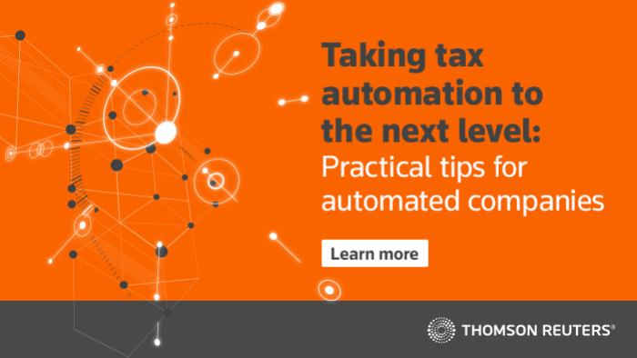 Taking tax automation to the next level: Practical tips for automated companies