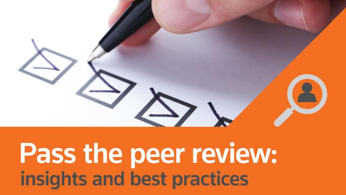 "Peer Review: Go Beyond ""Pass"" To Providing Client Value"